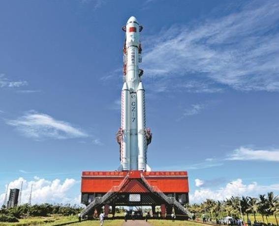 长征七号遥三火箭末级残骸已再入大气层 绝大部分器件烧蚀销毁