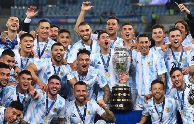 梅西圆梦! 阿根廷队获得美洲杯冠军