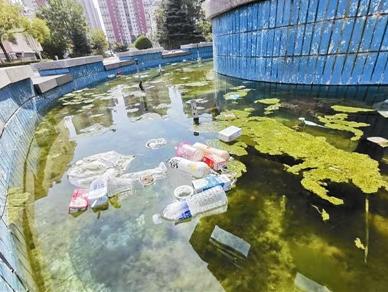 卫生保洁长期缺位 居民呼吁加强休闲广场管理